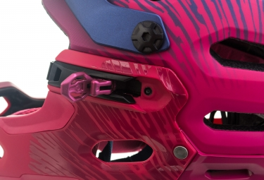 Casco Bell Super 3R MIPS para mujer Azul marino Cherry