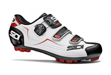 MTB Shoes SIDI 2018 Trace White Black Red