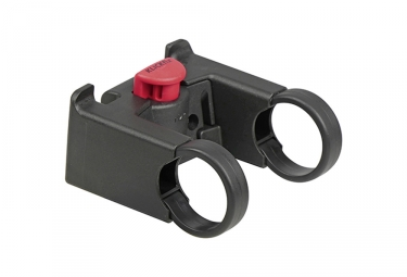 Support Panier Avant Klickfix Oversize 31.8 mm Noir