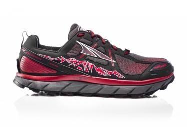 Paire de chaussures altra lone peak 3 5 noir rouge 43