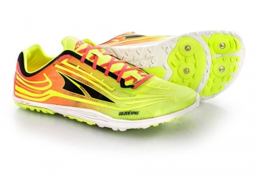 Altra Golden Spike Shoes Yellow Pink