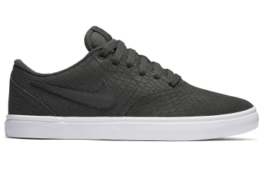 chaussures nike sb check solarsoft premium gris 42