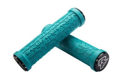 race face paire de grips grippler turquoise 33