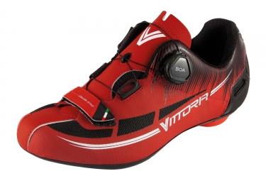 paire de chaussures vittoria fusion 2 rouge noir 45