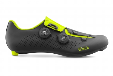 Fizik R3 Aria Road Bike Shoes Black Yellow