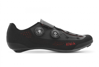 Paire de Chaussures Fizik Infinito R1 Knit Noir Rouge
