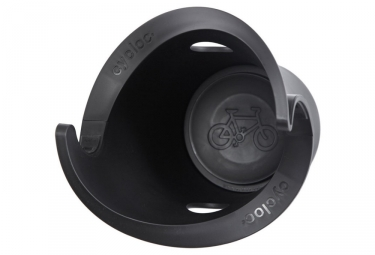 Support Vélo Mural Cycloc Solo Noir