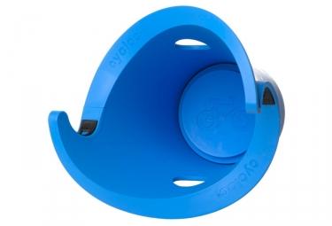Support velo mural cycloc solo bleu