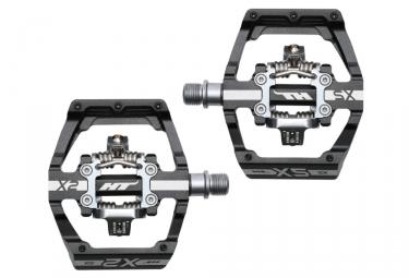 paire de pedales automatiques ht x2 sx noir