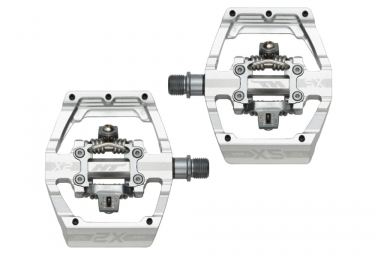 HT Clipless Pedals X2 SX Silver