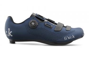 paire de chaussures fizik r4 carbon bleu noir 41