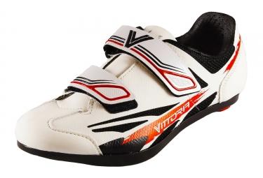 Paire de Chaussures de Route Enfant VITTORIA KID ROAD Blanc