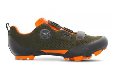 Paire de chaussures fizik terra x5 kaki orange 43