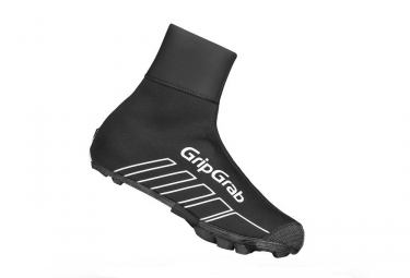 Couvre chaussures vtt gripgrab race thermo x noir 40 41