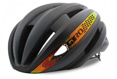 casque giro synthe mips noir orange m 55 59 cm