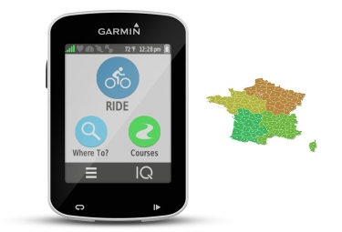 compteur gps garmin edge explore 820 carte topo 1 4 de france v4 pro