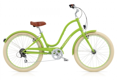 velo de ville electra townie balloon 8d eq lime