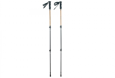 Ferrino Diran Hiking Poles Black Beige