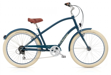 electra beach cruiser townie balloon 8d eq bleu navy