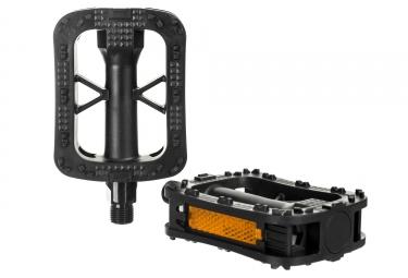 paire de pedales gnk plastique noir