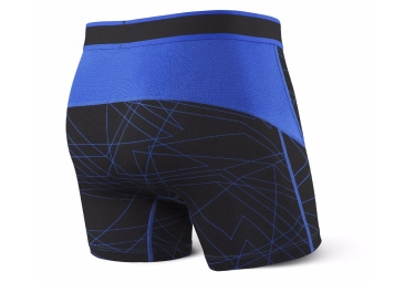 Boxer Saxx Performance Kinetic Noir Bleu