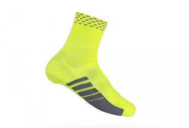 Couvre chaussures route gripgrab primavera hi vis jaune fluo