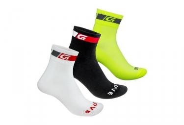 pack de 3 paires de chaussettes gripgrab tricolore regular cut 44 47