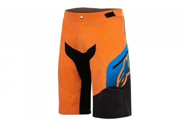 Short alpinestars predator orange bleu 30