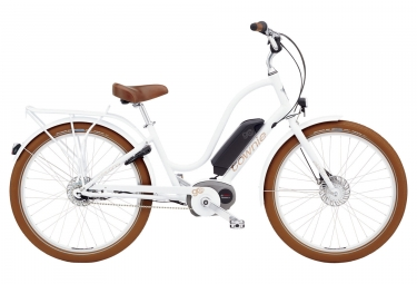 Electra Townie Go! 8i City E-Bike Shimano Nexus 8s White