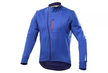 Veste thermique manches amovibles mavic ksyrium elite convertible bleu xxl