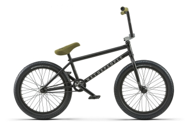 bmx freestyle wethepeople zodiac rhd freecoaster 20 75 matt black 2018