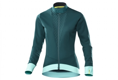 Veste thermique femme mavic sequence thermo bleu turquoise s