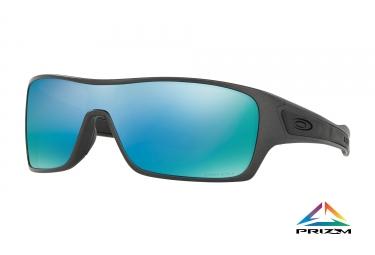 lunettes oakley turbine rotor gris prizm deep water polarise ref oo9307 09