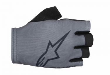 Paire de Gants Alpinestars S-Lite Grey Noir