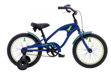 velo enfant electra cyclosaurus 1 16 bleu