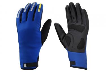 paire de gants hiver mavic aksium thermo bleu m