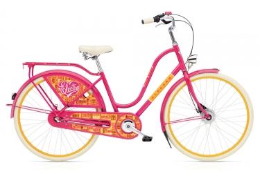 Velo de ville electra amsterdam fashion 7i joyride bright pink