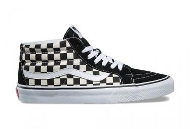 Chaussures Vans Sk8-Mid Reissue Damier Noir Blanc