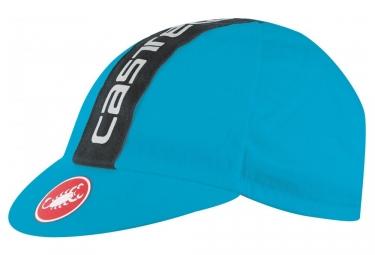 Casquette castelli retro 3 bleu noir