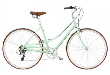 Bicicleta Ciudad Mujer Electra LOFT 7D Vert / Marron