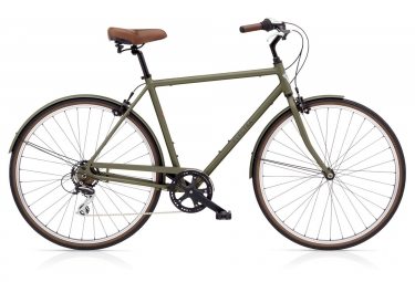 Vélo de Ville Electra LOFT 7D Shimano Acera 7V Kaki / Marron