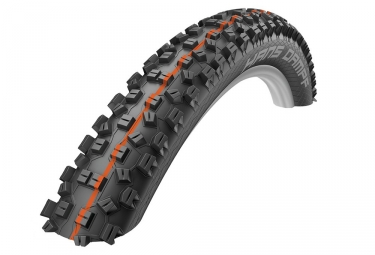 Pneu schwalbe hans dampf 26 snakeskin evolution supergravity tubeless ready addix soft 2 35