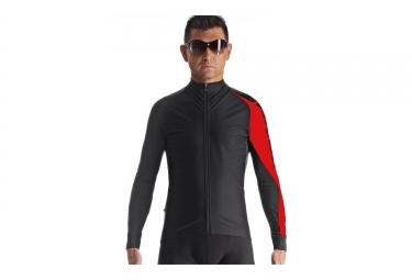 veste assos milleintermediate noir rouge s