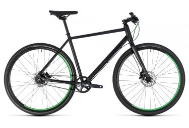 velo de ville cube hyde race shimano alfine 8v courroie noir vert 2018 50 cm 160 175 cm