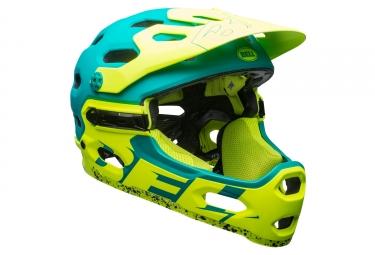 casco bell super 3r azul verde s 52 56 cm - Bell