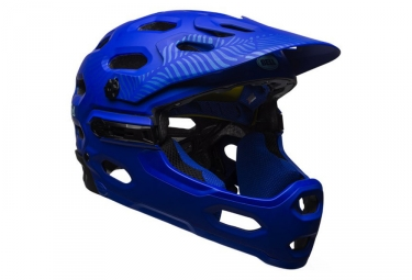 Casque integral bell super 3r mips joy ride bleu l 58 62 cm