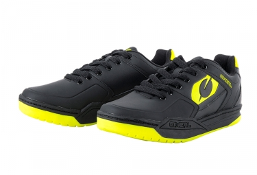 Oneal Pinned SPD MTB Shoes Black Neon Yellow