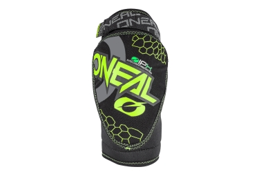 Oneal Dirt Knee Guards Black Neon Yellow