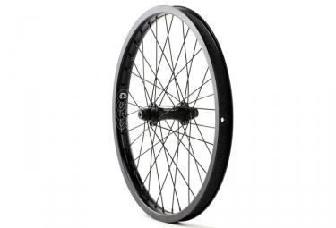 roue avant avec hubguard cinema zx noir