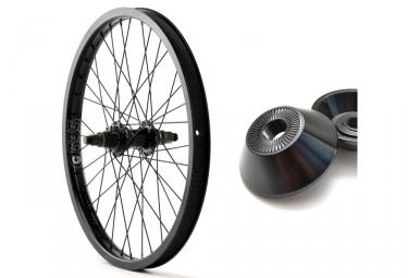 roue arriere avec hubguard cinema zx noir